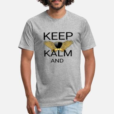 keep_calm_and_g1_k1 - Unisex Poly Cotton T-Shirt