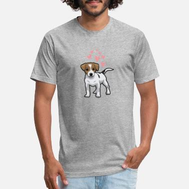 Jack Russel Terrier Jack Russell Terrier - Unisex Poly Cotton T-Shirt