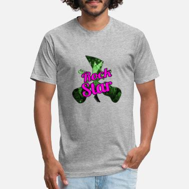 Rock Star Logo - Unisex Poly Cotton T-Shirt