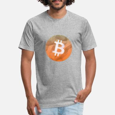 bitcoin - Unisex Poly Cotton T-Shirt