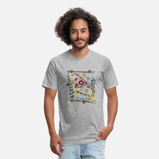 Week T-Shirts - week - Unisex Poly Cotton T-Shirt heather gray