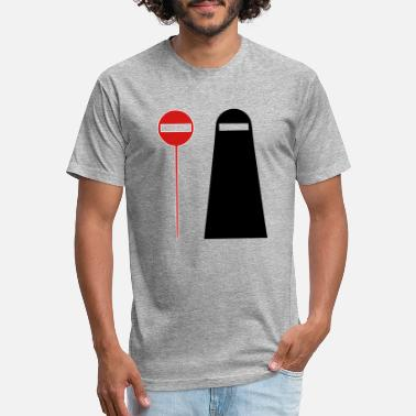 Modernist Funny modernistic design - Unisex Poly Cotton T-Shirt