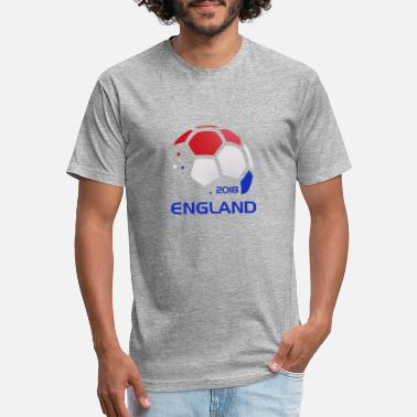 Soccer England National Soccer Team Fan Gear - Unisex Poly Cotton T-Shirt