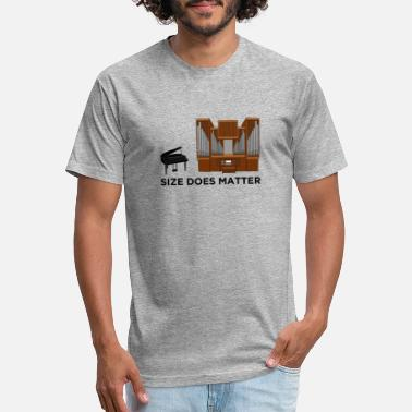 Pipe Size Does Matter Pipe Organ Musician Music Gift - Unisex Poly Cotton T-Shirt