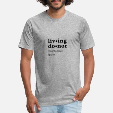 Donor livi NG do nor - Unisex Poly Cotton T-Shirt