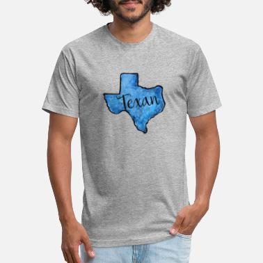 Texan texan - Unisex Poly Cotton T-Shirt