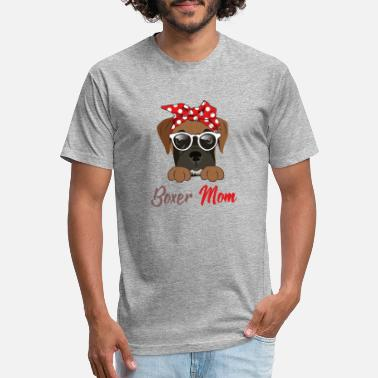 BOXER MOM - Unisex Poly Cotton T-Shirt