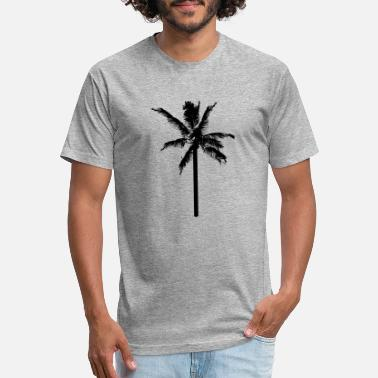 Palm Tree - Unisex Poly Cotton T-Shirt