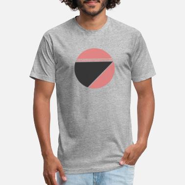geometric circle - Unisex Poly Cotton T-Shirt