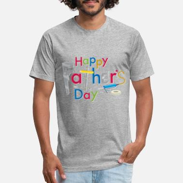 Happy Fathers Day Happy Fathers Day - Unisex Poly Cotton T-Shirt
