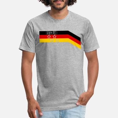 4 Stars Germany 4 stars - Unisex Poly Cotton T-Shirt