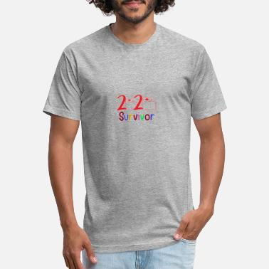 2020 Survivor (funny shirt) - Unisex Poly Cotton T-Shirt