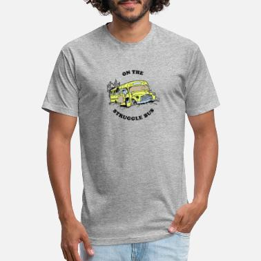 Bus Struggle Bus - Unisex Poly Cotton T-Shirt