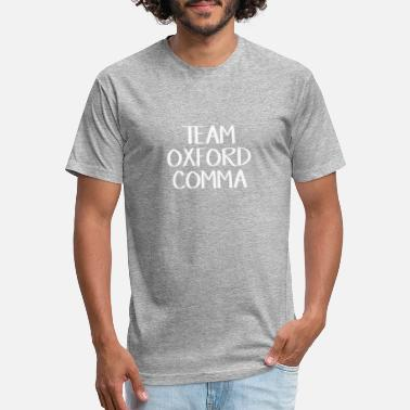Oxfordshire Team Oxford Comma Gift Tee - Unisex Poly Cotton T-Shirt