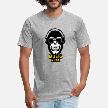 monkey face - Unisex Poly Cotton T-Shirt