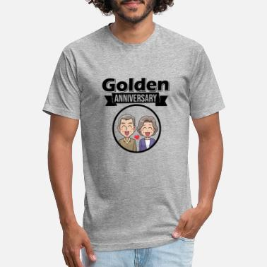 Golden Anniversary Golden anniversary - Unisex Poly Cotton T-Shirt