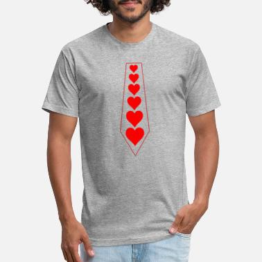 love heart for valentines day t-shirts - Unisex Poly Cotton T-Shirt