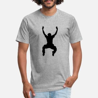 Jumping Spot Jump - Unisex Poly Cotton T-Shirt
