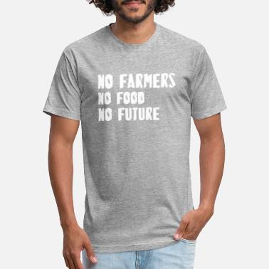 Demonstration No Farmers No Food No Future - Unisex Poly Cotton T-Shirt