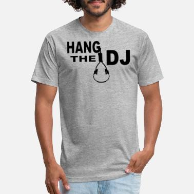 Dj Hang Up HANG THE DJ - Unisex Poly Cotton T-Shirt