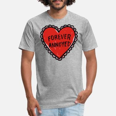 Annoyed Couples Forever Annoyed - Unisex Poly Cotton T-Shirt