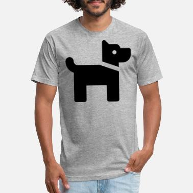Doggie School Doggy - Unisex Poly Cotton T-Shirt