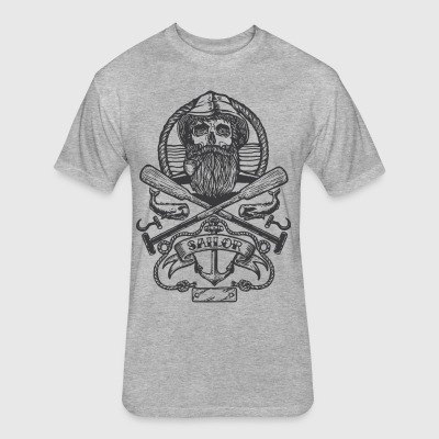 Sailor - Fitted Cotton/Poly T-Shirt by Next Level