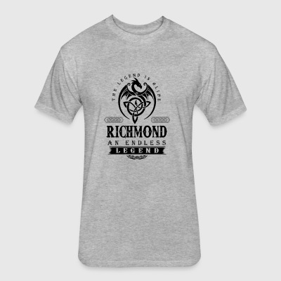 RICHMOND - Fitted Cotton/Poly T-Shirt by Next Level