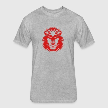 lion wild animal in 1102 - Fitted Cotton/Poly T-Shirt by Next Level