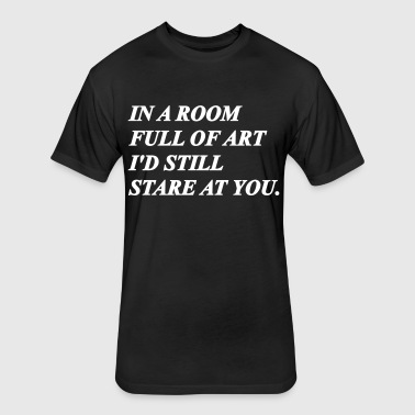 Room Full Of Art - Fitted Cotton/Poly T-Shirt by Next Level