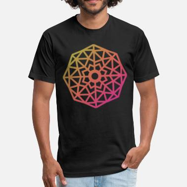 Gabrielronline Inverted Snowflake - Fitted Cotton/Poly T-Shirt by Next Level