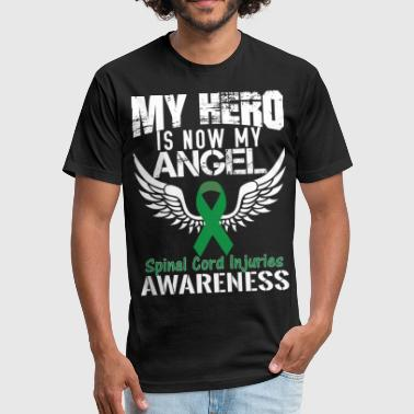 Spinal Cord Injuries Awareness - Fitted Cotton/Poly T-Shirt by Next Level
