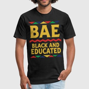 Sex African Dashiki Educated And Black African Dna Pride T Shi - Fitted Cotton/Poly T-Shirt by Next Level