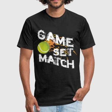 T-shirt game set match - Fitted Cotton/Poly T-Shirt by Next Level
