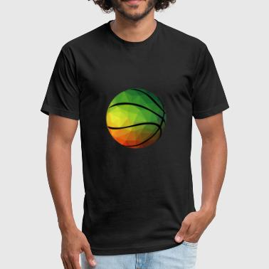 Ball Up Ball - Fitted Cotton/Poly T-Shirt by Next Level