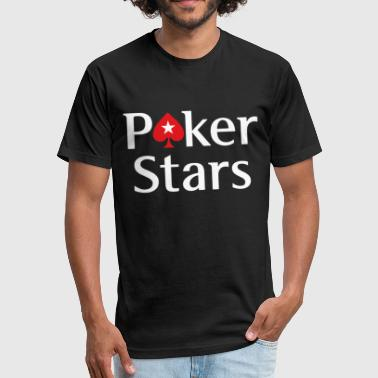 POKERSTARS EPT limited quantity POKER gambling tou - Fitted Cotton/Poly T-Shirt by Next Level