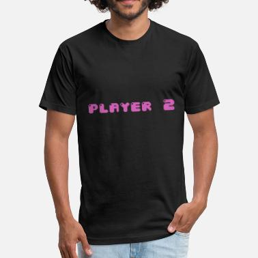 Player Two Player two - Fitted Cotton/Poly T-Shirt by Next Level