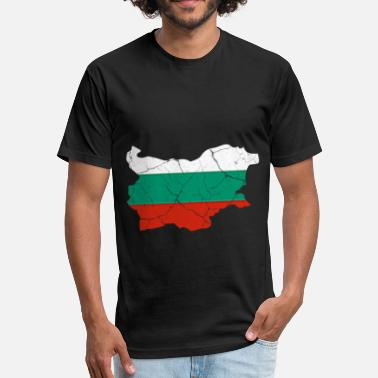 Danube Bulgaria Bulgarian Sofia gift Balkan Danube - Fitted Cotton/Poly T-Shirt by Next Level