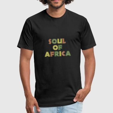Afro Beat Hip Hop Soul of Africa - Fitted Cotton/Poly T-Shirt by Next Level