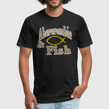 Abercrombie Fish Symbol iii - Fitted Cotton/Poly T-Shirt by Next Level