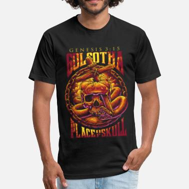 Golgotha Golgotha - Fitted Cotton/Poly T-Shirt by Next Level