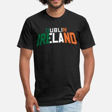 Dublin Up From Dublin - Fitted Cotton/Poly T-Shirt by Next Level