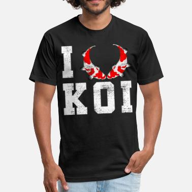 Koi Kois - Fitted Cotton/Poly T-Shirt by Next Level