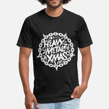 Heavy Metal Bass Player heavy metal - Fitted Cotton/Poly T-Shirt by Next Level