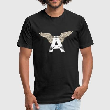 Angel God - Fitted Cotton/Poly T-Shirt by Next Level