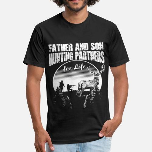 00c6c156 Father and Son Hunting Partners for Life Unisex Poly Cotton T-Shirt |  Spreadshirt