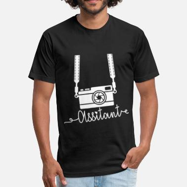 Photographers Assistant Cute Photographer Assistant Shirt - Fitted Cotton/Poly T-Shirt by Next Level