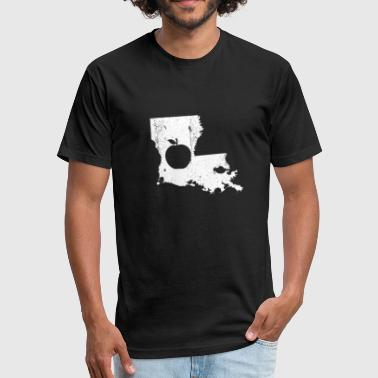 Gift Louisiana Louisiana Teacher Gift - Fitted Cotton/Poly T-Shirt by Next Level