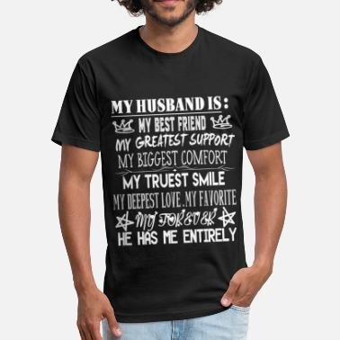 Shop My Husband Is My Best Friend T Shirts Online Spreadshirt