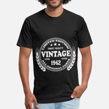 limited edition finest quality vintage living lege - Fitted Cotton/Poly T-Shirt by Next Level